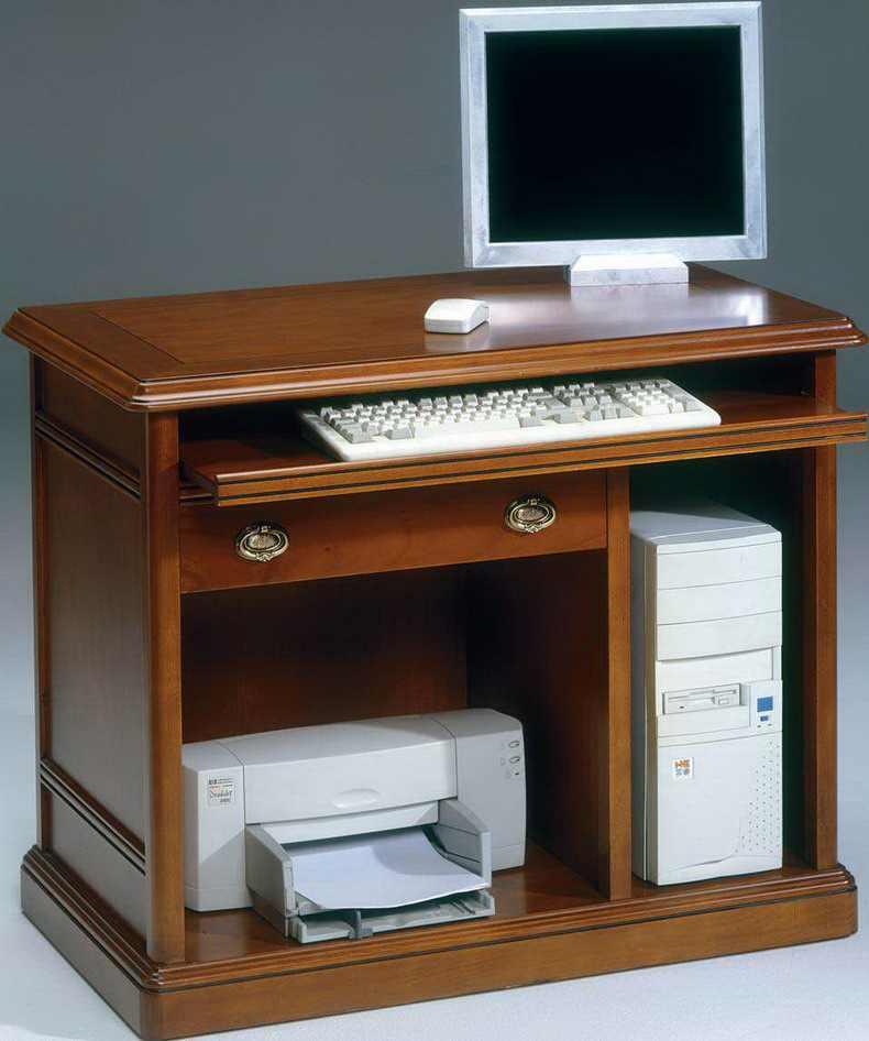 Mesas de estilo clasico ingles - Mesas de ordenador de diseno ...