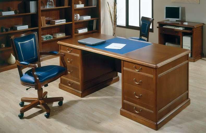 Mesas de estilo cl sico ingles for Muebles de oficina issa